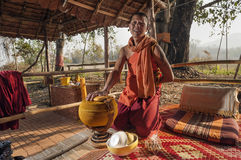 Forest Monk Stock Photography