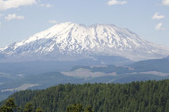 Forest mountain St. Helens volcano stock photos