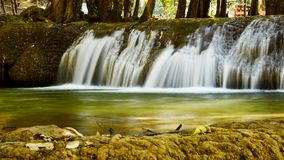 Forest mountain waterfall natural in Thailand. Nature concept Stock Image