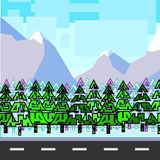 Forest mountains Stock Photo