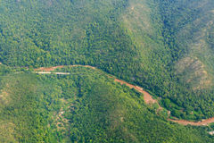 Forest in the northern provinces of Thailand Stock Image