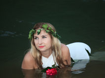 Forest nymph Royalty Free Stock Photos
