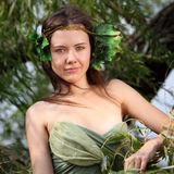 Forest nymph Stock Image