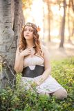 Forest Nymphs Lizenzfreies Stockfoto