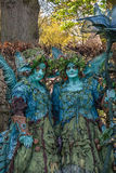 Forest nymphs on the Elf Fantasy Fair Royalty Free Stock Photo