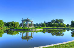 Forest Park του Σαιντ Λούις bandstand Στοκ φωτογραφία με δικαίωμα ελεύθερης χρήσης