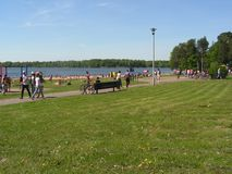 "Forest Park ""DROZDY ""στο Μινσκ Λευκορωσία στοκ φωτογραφίες με δικαίωμα ελεύθερης χρήσης"