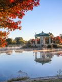 Forest Park bandstand in St. Louis, Missouri. The bandstand located in Forest Park, St. Louis, Missouri stock images
