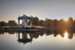 Forest Park bandstand in St. Louis, Missouri.  stock image