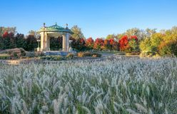 Forest Park bandstand in St. Louis, Missouri. The bandstand located in Forest Park, St. Louis, Missouri royalty free stock photos