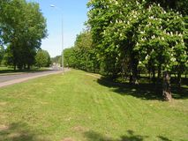 Forest Park ?DROZDY ?in Minsk Wit-Rusland stock fotografie