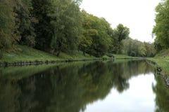 Forest Park flod Arkivfoton