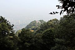 Forest Park sightseeing stand. Chongqing, China Stock Photography