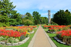 Forest Park in Springfield. This photo was taken in Springfield. Forest Park in Springfield, is one of the largest urban, municipal parks in the United States royalty free stock photos