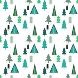 Forest pattern Stock Photo