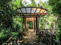 Forest Pavilion Royalty Free Stock Photography