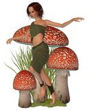 Forest Pixie Stock Images