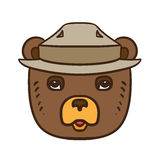 Forest Protection Bear Day Immagini Stock