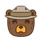 Forest Protection Bear Day Illustration de Vecteur