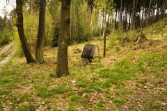 Forest protection ecology Stock Image