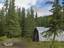 Forest Ranger Cabin And Camp Stock Photography
