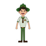 Forest ranger icon Royalty Free Stock Images