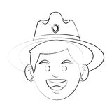 Forest ranger icon Royalty Free Stock Photo