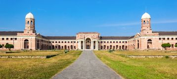 Forest Research Institute. The Forest Research Institute is an institute of the Indian Council of Forestry Research and Education. It is located at Dehradun in royalty free stock photos