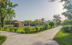 Forest rest house in dudhua Stock Photography