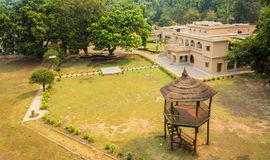 Forest rest house in dudhua Stock Photos
