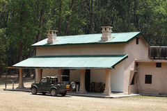 A Forest rest house at Sultan, Jim Corbett Royalty Free Stock Image