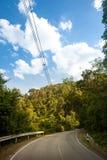Forest road at Khaoyai National Park Stock Photos