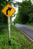 Forest Road Thailand Royaltyfri Bild