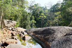 Forest Scenery, Landscape, Seven Wells, Langkawi, Malaysia Stock Photos