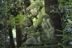 Forest sculptures Royalty Free Stock Photo