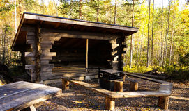 Forest shelter Royalty Free Stock Photos
