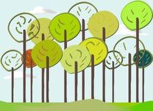 Forest_spring lizenzfreie abbildung