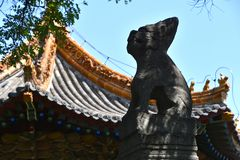 Forest of Steles at Xian, China stock image