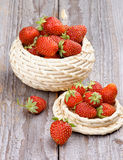 Forest Strawberries Image stock