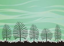 Forest theme background. Creative forest theme background Royalty Free Stock Image