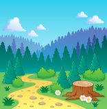 Forest theme image 2 Royalty Free Stock Photography