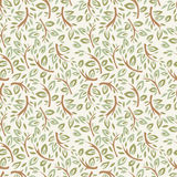 Forest twigs seamless pattern Stock Images