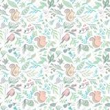 Forest Vector Pattern frais Image stock