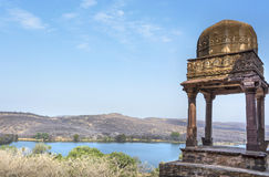 Forest view. From Ranthambhore fort Royalty Free Stock Images