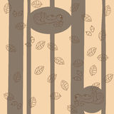 Forest wallpaper Royalty Free Stock Photography