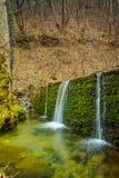 Forest Waterfall on Crazy Mary River, Belasitsa Mountain, Bulgaria Stock Photos