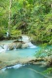 Forest Waterfall profondo in Tailandia Immagine Stock Libera da Diritti