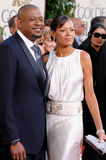 Forest Whitaker, Keisha Whitaker Stock Images