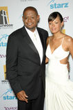 Forest Whitaker,Keisha Whitaker Stock Image