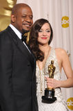Forest Whitaker, Marion Cotillard Stock Image